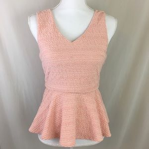 Forever 21 | Pink Peplum Top